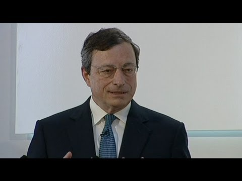 ECB's Draghi to the euro's rescue?