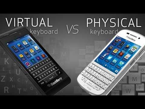 touch screen vs full  Physical Qwerty Keyboards