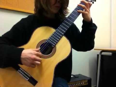 L'abeille (El abejorro) Guitare Emilio Pujol
