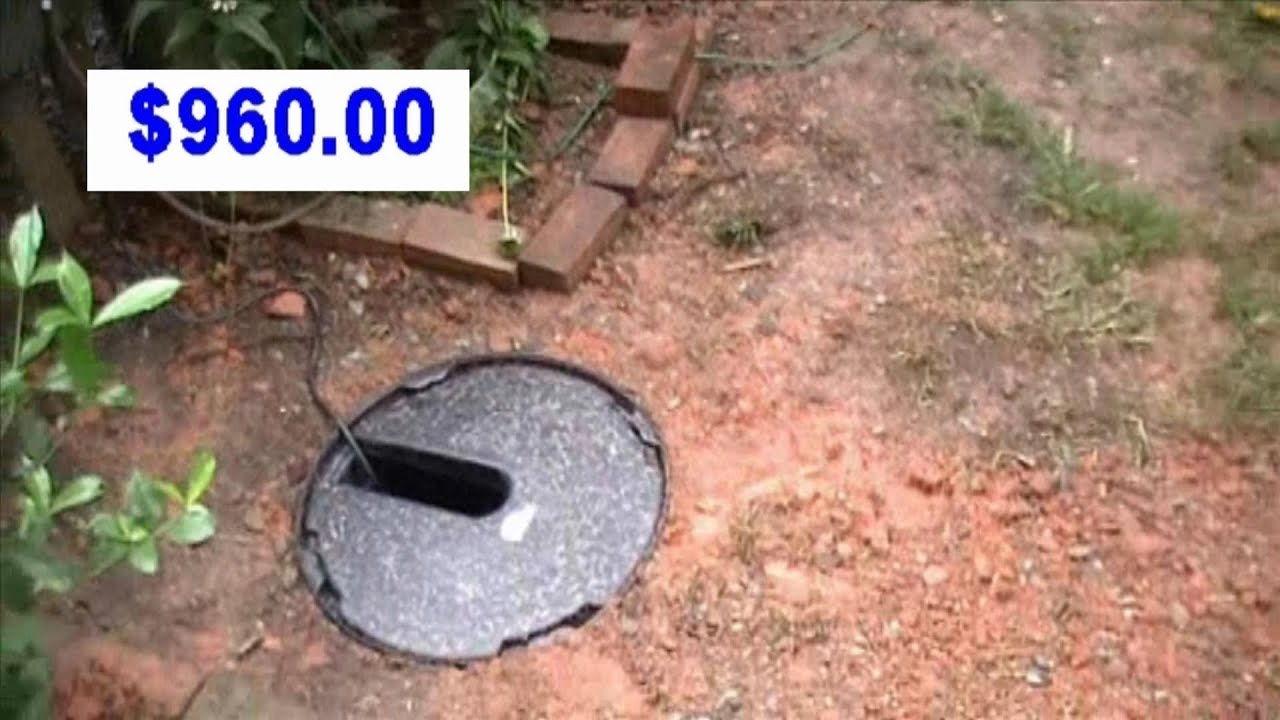 French drain how much does it cost to install drainage youtube for Interior drain tile system cost