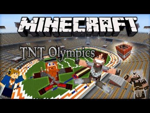 Détente sur Minecraft - TNT Olympics avec Polkasalsa