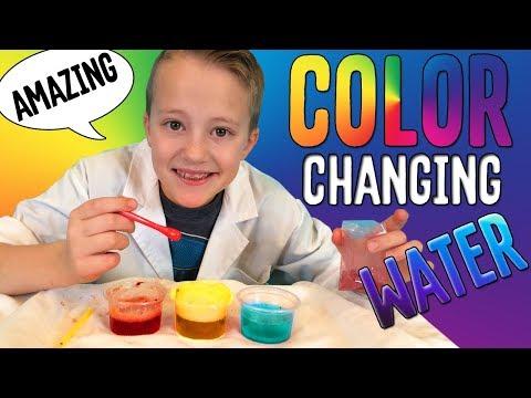 Magic Color Change Experiment
