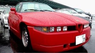 1994 Alfa Romeo SZ (Sprint Zagato) 17K LHD - Japanese Auto Auctions - Auto Access Japan
