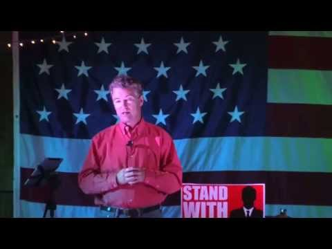 Rand Paul Barnburner and BBQ speech - 10/12/14