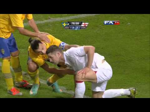 Sweden v England 4-2, Official Goals and Highlights | FATV 14/11/12