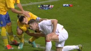 Sweden vs England 4-2, Official Goals and Highlights | FATV 14/11/12