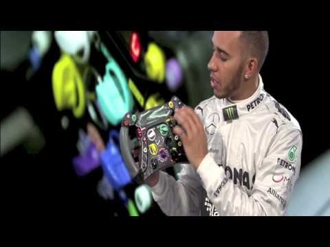 The F1 Steering Wheel with Lewis Hamilton