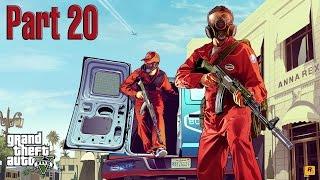 GTA V part 20 - Vụ cướp nhà băng lớn nhất từng thấy