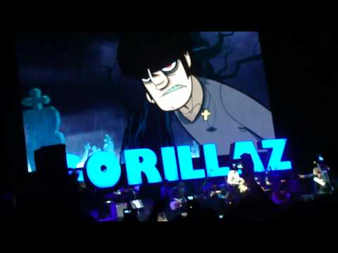 Clint Eastwood by Gorillaz  2010 Coachella Fest Live Preformence Music Videos