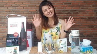 สาธิตละอองน้ำมัน Omeg 3 Plus จากบริษัท Unilever Network | Mink Yaowathida