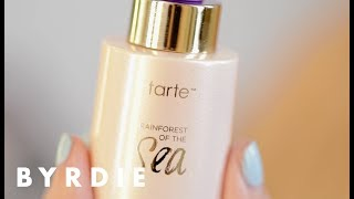 Tarte Rainforest of the Sea Radiance Drops Unboxed and Reviewed | New and Now | Byrdie