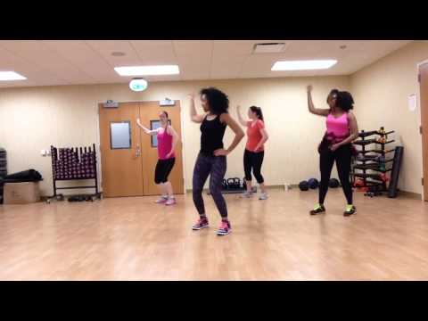 Jason Derulo talk dirty HIPHOP aerobics dance by Imani