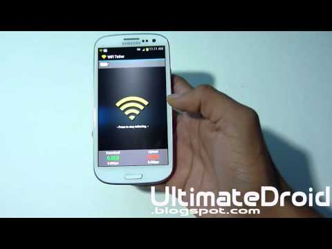 How to Get Free WiFI Tether / Hotspot on T-Mobile Samsung Galaxy S3! [ICS]