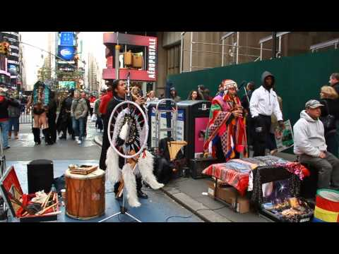 peru music times square new york city