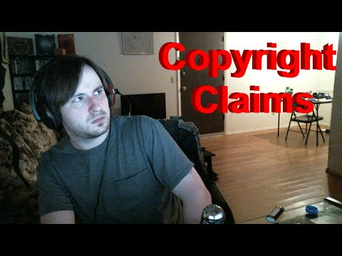 I got two copyright claims...