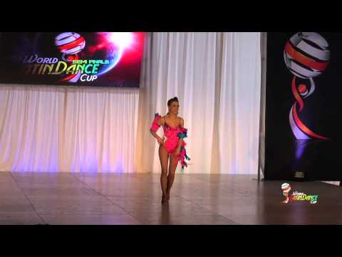 OLAIA GARCIA ALVAREZ, SPAIN, FEMALE AMATEUR SOLOIST, FINAL ROUND, WLDC 2014