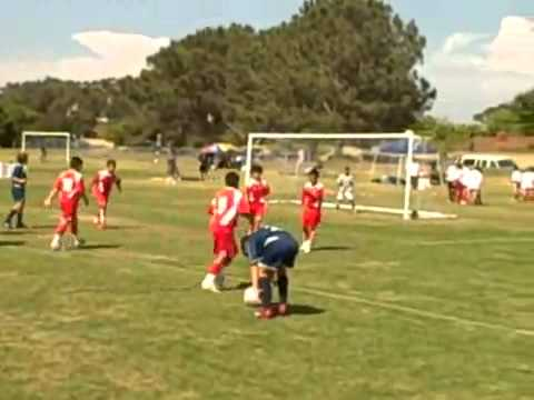9 year old Beckham Free Kick