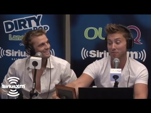 "Aaron Carter Makes a ""Confession"" to Lance Bass on SiriusXM"