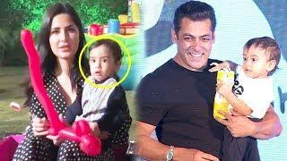 Katrina Kaif's CUTE Video With Salman Khan's Nephew Ahil Sharma