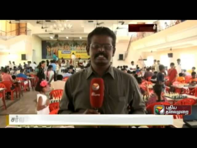 International Chess competition at Virudhunagar