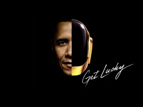 Barack Obama Singing Get Lucky by Daft Punk ft  Pharrell) Mp3 Download in Descp.