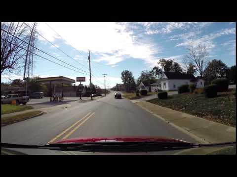 Morganton NC Driving Tour Autumn Part 4 - Burkemont - I-40 Exit 103 and 105