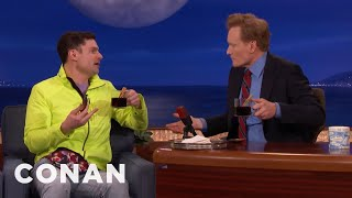 Flula Borg & Conan Drink German Glühwein  - CONAN on TBS