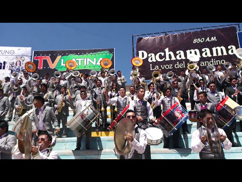 Bandas Proyección San Andrés y Super Amautas en la festividad de la Candelaria 2014