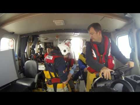 Rhyl Lifeboat Service to Sick Diver