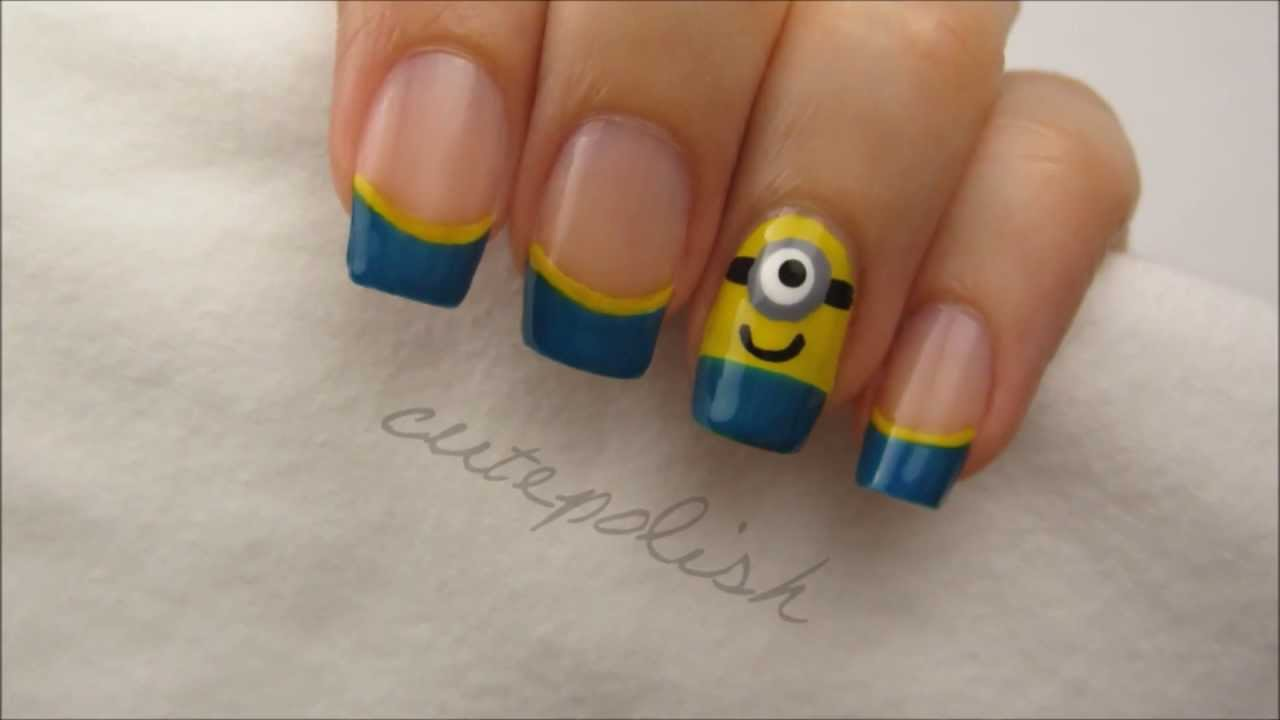 despicable me 2 minion nails youtube