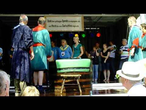 19. Gautschfest am Samstag, 20.08.2011 auf dem Markt in Haltern am See, Kornutin Linda