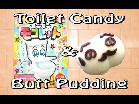 Moko Moko Mokolet & Crayon Shin Chan Butt Pudding KITS