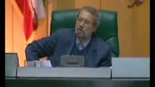 فيلم کامل پاسخ لاريجاني به احمدي نژاد قسمت اول