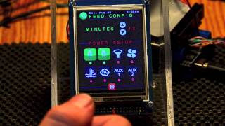 iAqua: My Touch Interface Aquarium Controller Arduino