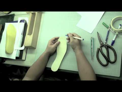中底版教學(字幕版)Footwear teaching & Shoe design