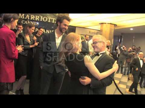 Jessica Chastain with her boyfriend Gian Luca Passi de Preposulo at