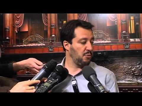 Intervista a Matteo Salvini sull' Euro