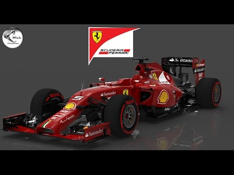 F1 2015 Fictional Ferrari: Sebastian Vettel Race at Bahrain
