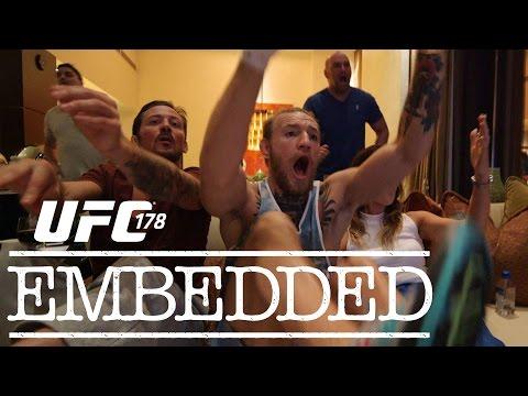UFC 178 Embedded Vlog Series  Episode 1