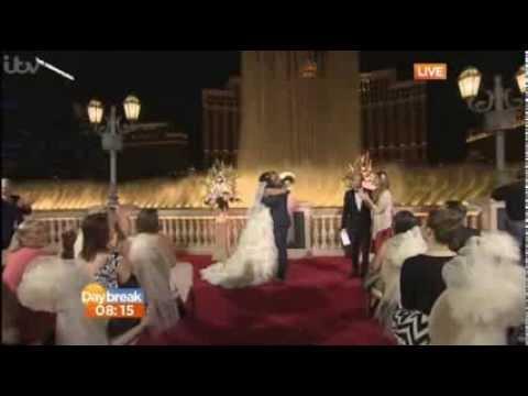 Kian Egan & Jodi Albert - Valentine's Day Wedding In Las Vegas (Feb.14, 2014)