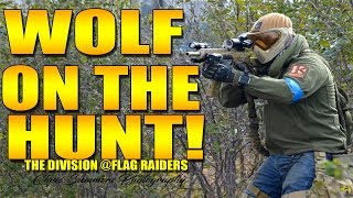 WOLF ON THE HUNT AT FLAG RAIDERS DIVISION GAME!