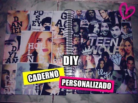 DIY: CADERNO PERSONALIZADO | Volta As Aulas | 😍💋