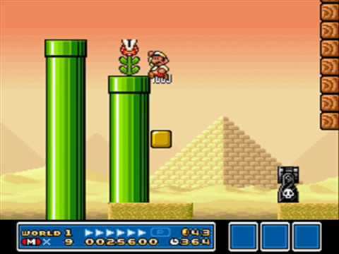 Near Perfect Replica of Mario Bros 3 with Gamemaker
