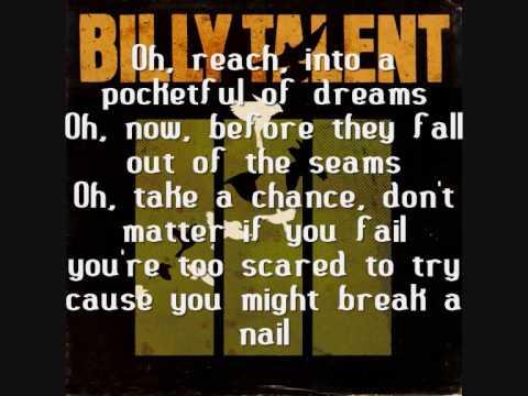 Billy Talent  Pocketful of Dreams with Lyrics