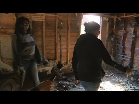 Exclusive: Woman who saved kids from fire faces the damage for the first time