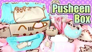 Pusheen Cat Box Spring 2019 - Kawaii Subscription Box Unboxing - So much Official Merch Cuteness!!