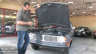 1969 Volvo 142 S for sale Flemings with test drive, driving sounds, and walk through video