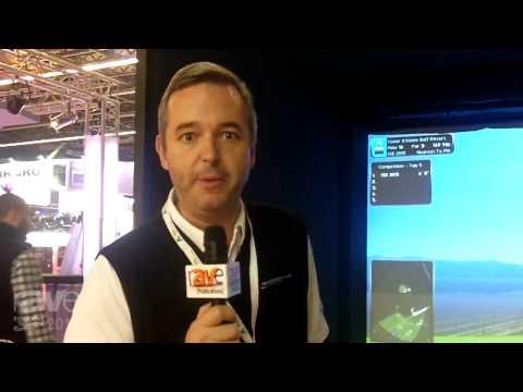 ISE 2015: Foresight Sports Demonstrates Full-Immersion Golf Simulator