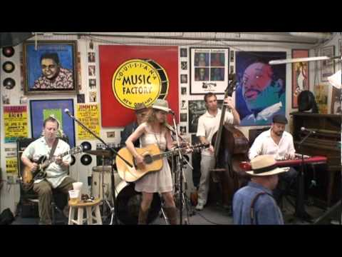 Lynn Drury @ Louisiana Music Factory 2011 - PT 1