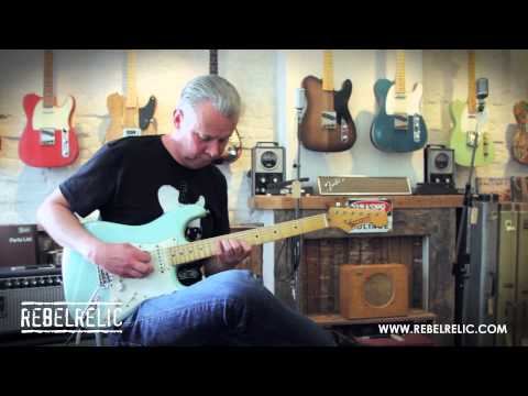 Daphne Blue S-Series | REBELRELIC GUITAR SHOWCASE